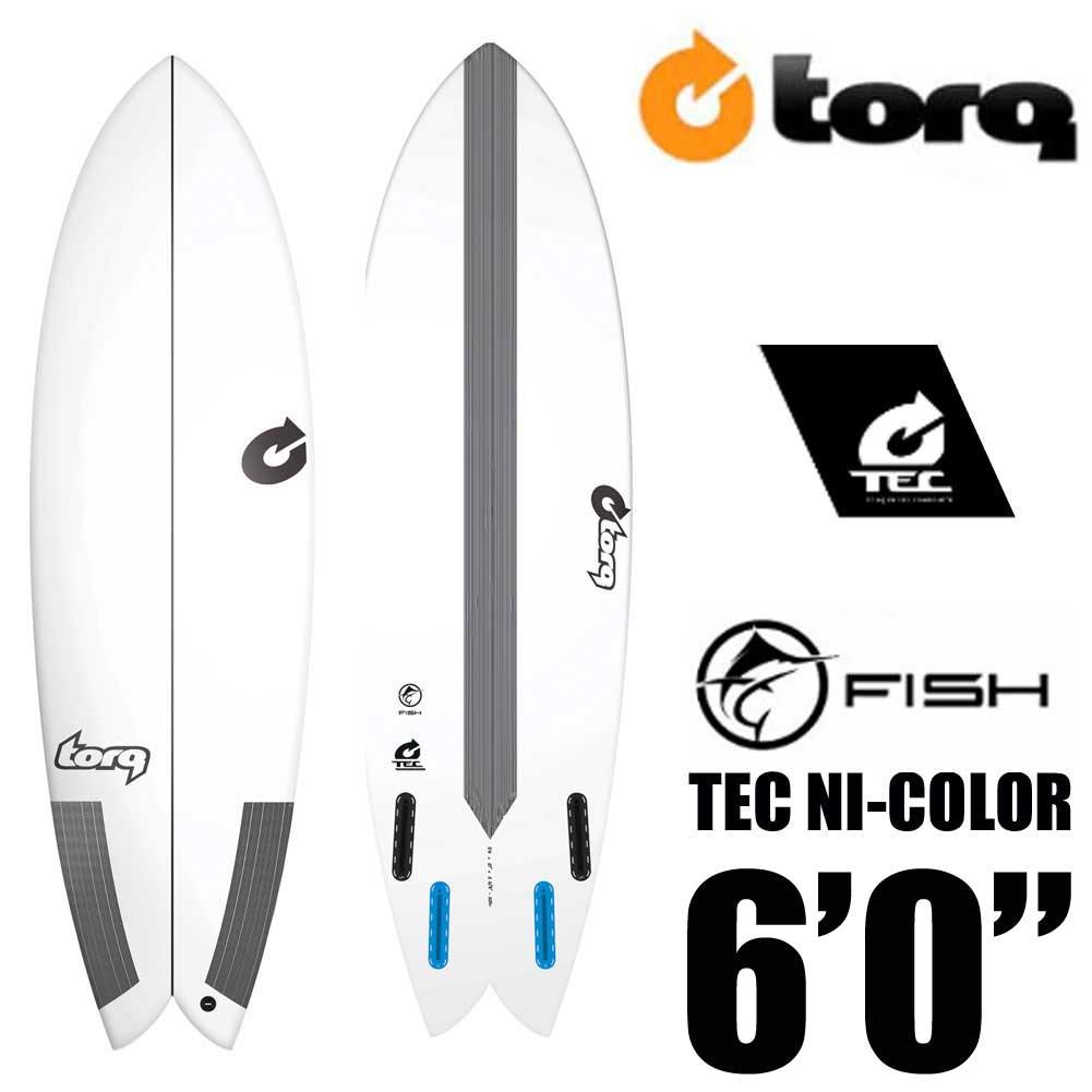 TORQ Surfboard トルクサーフボード TEC FISH 6'0 EPS/フィッシュ エポキシ ショートボード【送料無料】