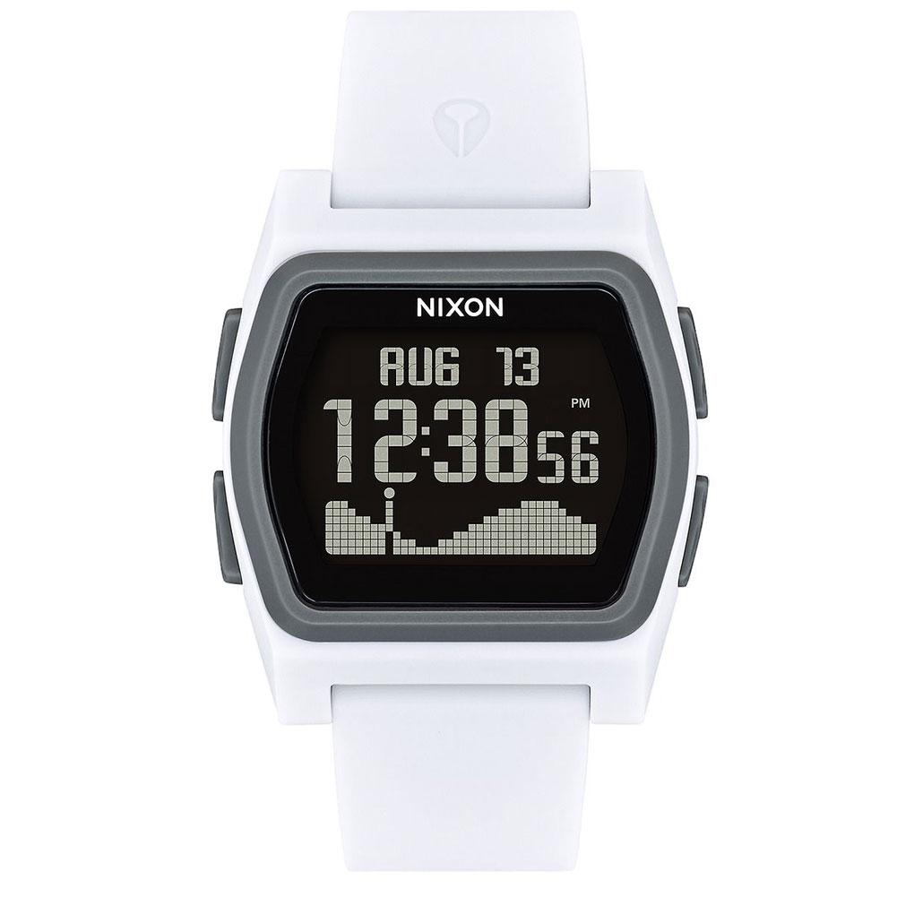 【ポイント最大36倍6/11(木)01:59まで】 NIXON 腕時計 THE RIVAL WHITE/CHARCOAL ニクソン ライバル ホワイト/チャコール