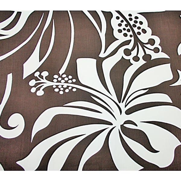 夏威夷人布料棕色·木槿花纹/Paus推车草裙舞