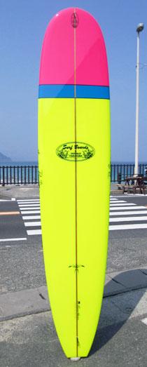 最高級 ロングボード サーフボード HAWAIIAN PRO DESIGNS ロングボード ドナルドタカヤマロングボード IN THE PINK PINK DESIGNS 9'0