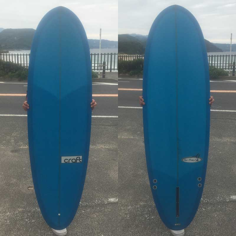 PSC SURFBOARD ピーエスシーショートボード FLOW DISC 5'10