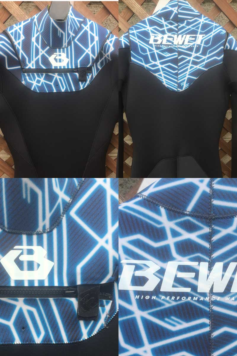 BEWET 泳衣所有 3 毫米充分适应滨海 2 型升级模型 J FlapXfs04gm