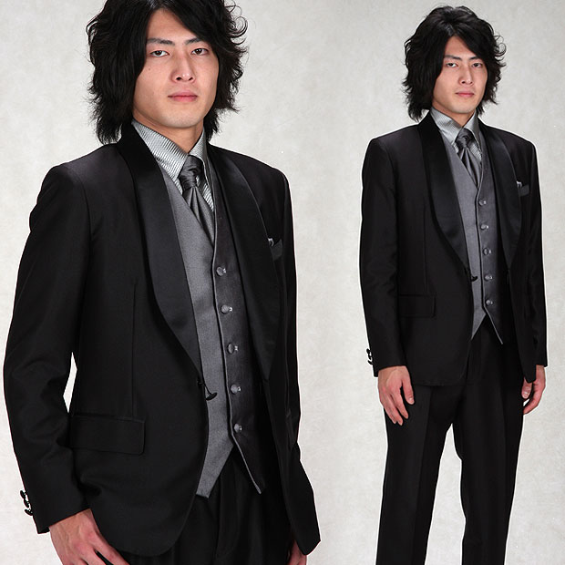marino | Rakuten Global Market Tuxedo rent 5 piece set! ☆ round ...