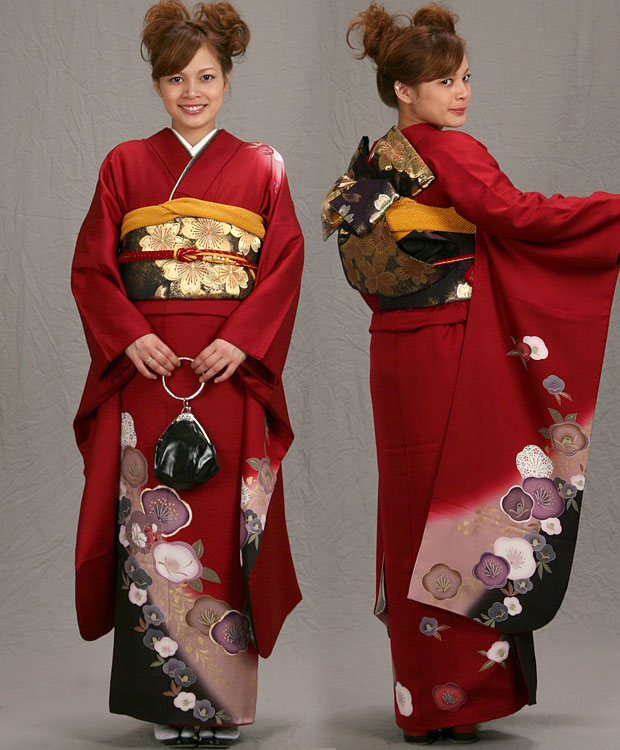 ★ ★ ★ ★ round reception and party please! Long-sleeved kimono rental! Coming of age ceremony kimono! 247