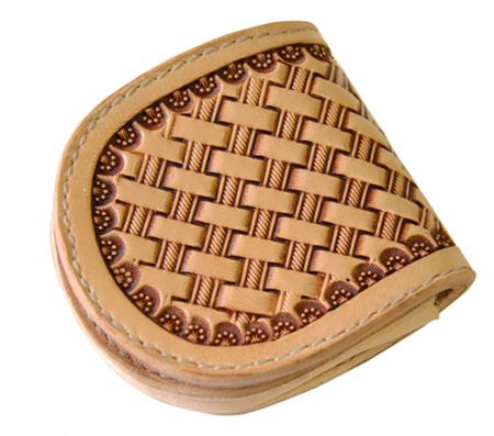 ハンドメイド 革製コインケース 国産サドルレザー 日本製 ネーム刻印無料