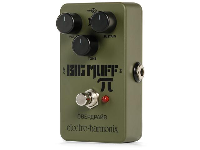 【即納可能】electro-harmonix Green Russian Big Muff(新品)【送料無料】