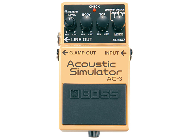 BOSS Acoustic Simulator AC-3(新品)【送料無料】