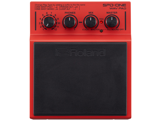 【即納可能】Roland SPD::ONE WAV PAD<BR> [SPD-1W](新品)【送料無料】