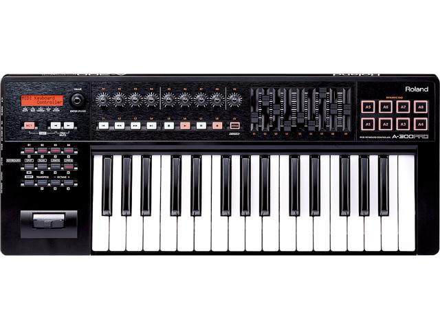 DAWソフトウェアでの音楽制作はもちろん ライブなどでのリアルタイム パフォーマンスにも活躍 即納可能 Roland A-300PRO コントローラー 新生活 販売期間 限定のお得なタイムセール MIDIキーボード 32鍵盤 A-300PRO-R 新品 送料無料