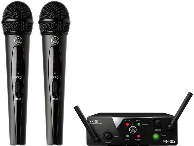 【即納可能】AKG WMS40 PRO MINI2 VOCAL SET DUAL(新品)【送料無料】
