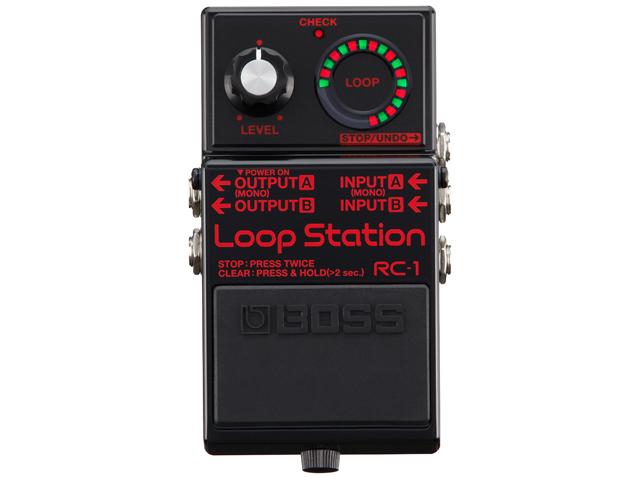【即納可能】BOSS Loop Station RC-1 ブラック [Limited Edition: RC-1-BK](新品)【送料無料】