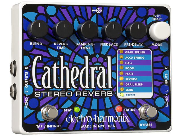【即納可能】【国内正規品】electro-harmonix Cathedral(新品)【送料無料】