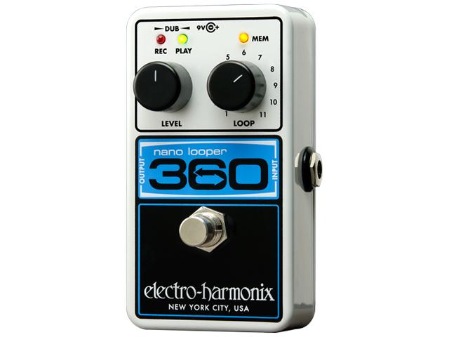 【即納可能】electro-harmonix Nano Looper 360(新品)【送料無料】