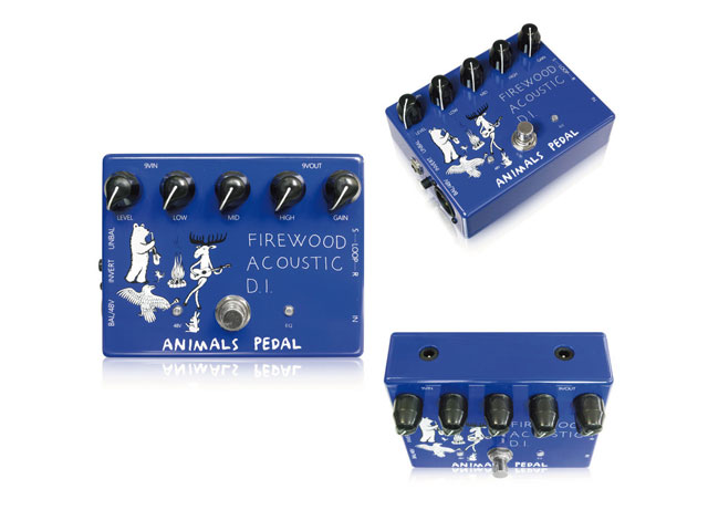 【即納可能】Animals Pedal Firewood Acoustic D.I.(新品)【送料無料】【国内正規流通品】