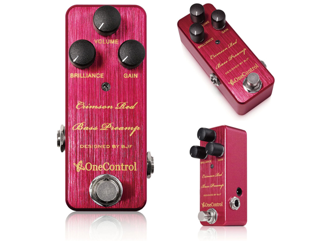 ONE Control Crimson Red Bass Preamp(新品)【送料無料】