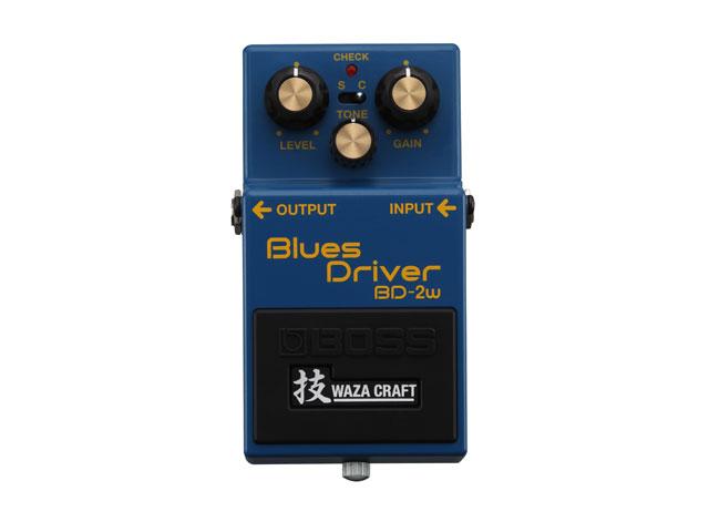 【即納可能】BOSS Blues Driver BD-2w(J)技WAZA CRAFT【MADEINJAPAN】(新品)【送料無料】