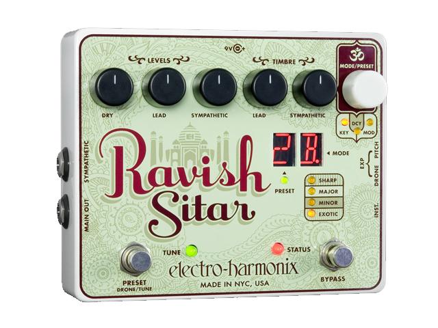 【即納可能】【国内正規品】electro-harmonix RAVISH SITAR(新品)【送料無料】