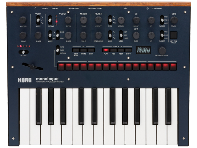 【即納可能】KORG monologue Dark Blue [monologue-BL](新品)【送料無料】