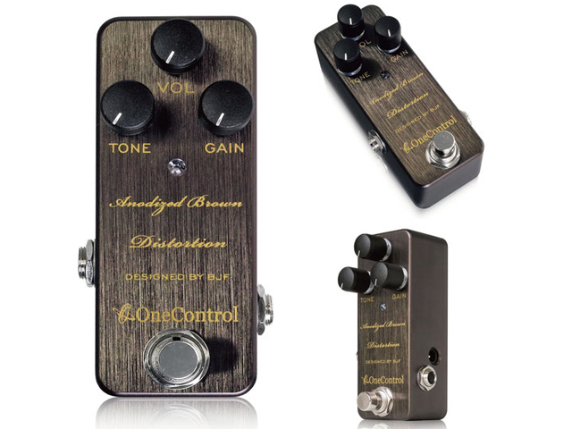 One Control Anodized Brown Distortion(新品)【送料無料】