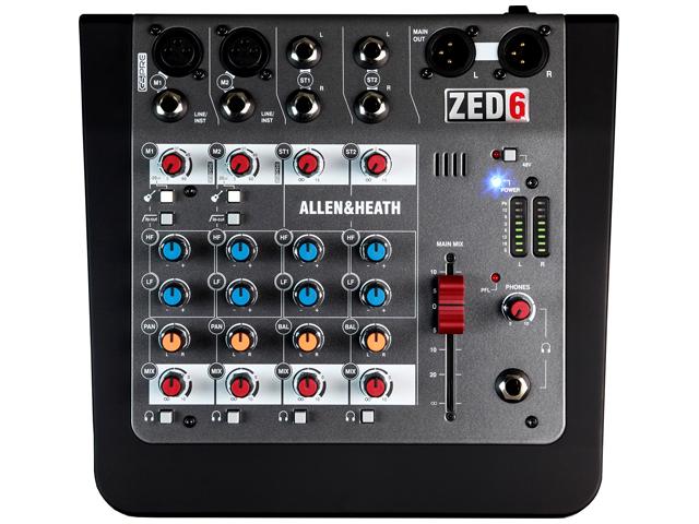 【即納可能】ALLEN&HEATH ZED-6 [ZED6/X](新品)【送料無料】