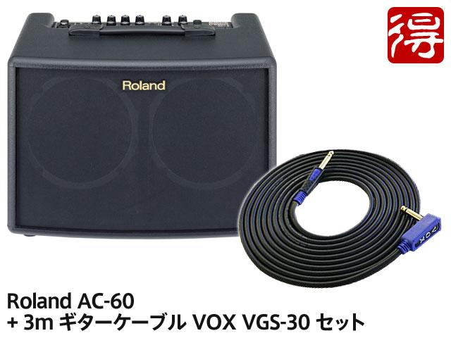 【即納可能】Roland AC-60 + VOX VGS-30 セット(新品)【送料無料】