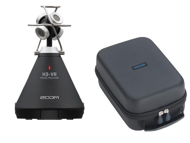 【即納可能】ZOOM H3-VR + ソフトシェルケース SCU-20 セット(新品)【送料無料】