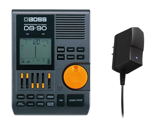 新しい 【即納可能】BOSS Dr.Beat セット DB-90+ACアダプター「PSA-100S2」 セット メトロノーム メトロノーム リズムコーチ(新品)【送料無料】, 飯山町:d24be254 --- coursedive.com