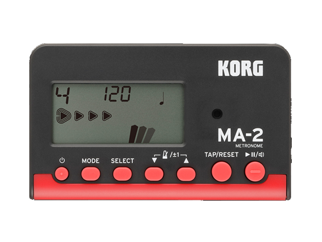KORG MA-2 今だけ限定15%OFFクーポン発行中 ブラック レッド 送料無料 新品 メール便利用 春の新作続々 MA-2-BKRD