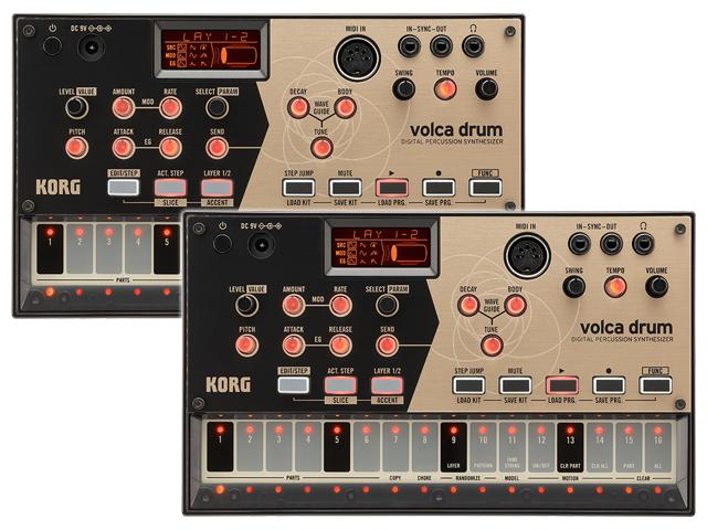 ■店舗在庫あります!即納可能!!■ 【まとめ買い】KORG volca drum 2個セット(新品)【送料無料】