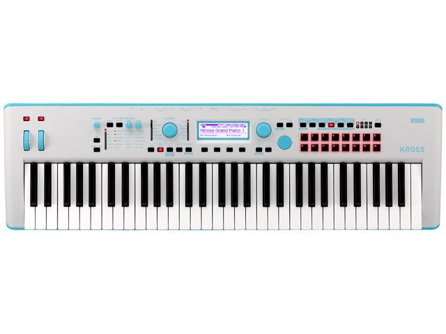 KORG 2 KROSS 2 61鍵盤モデル 61鍵盤モデル ネオンカラー ブルー KROSS2-61 GB Gray-Blue(新品) KORG【送料無料】, セイウ オンラインショップ:1af2da74 --- vietwind.com.vn