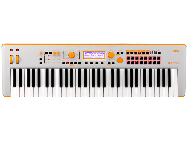 KORG KROSS 2 61鍵盤モデル ネオンカラー オレンジ KROSS2-61 GO Gray-Orange(新品)【送料無料】