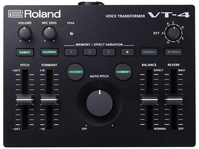 国内送料無料 ■店舗在庫あります 即納可能 ■ Roland Voice Transformer 100%品質保証! 送料無料 ボイス VT-4 新品 トランスフォーマー