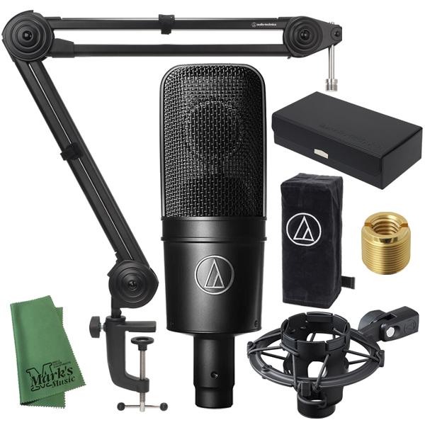 ■店舗在庫あります 即納可能 ■ audio-technica AT4040 AT8700J ついに再販開始 送料無料 + 新品 流行のアイテム