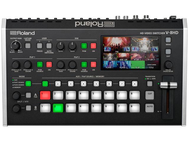 ■店舗在庫あります 直営限定アウトレット 大注目 即納可能 ■ Roland V-8HD 送料無料 新品