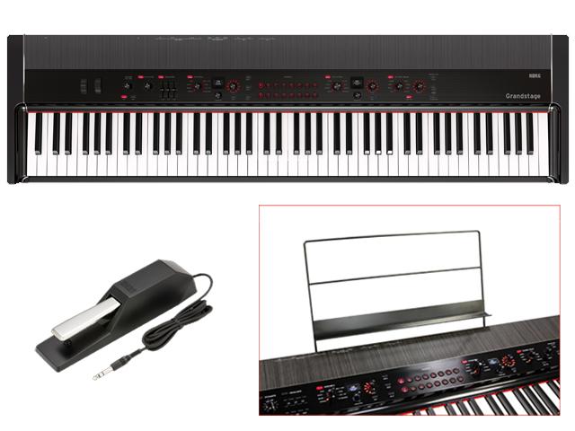 2021年最新海外 KORG Grandstage 88鍵盤モデル Grandstage GS1-88(アウトレット品) 88鍵盤モデル【送料無料】, デニム2サイズ試着okアクイール:d12b216d --- irecyclecampaign.org