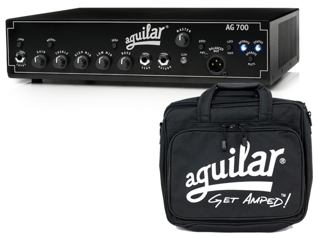 【即納可能】Aguilar AG 700 + 純正 Carry Bag セット(新品)【送料無料】【国内正規流通品】