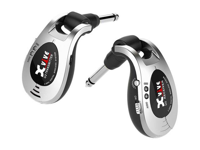■店舗在庫あります!即納可能!!■ 【即納可能】Xvive U2 Wireless Guitar System XV-U2 シルバー(新品)【送料無料】