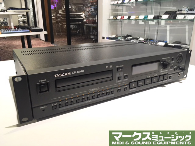 TASCAM CD-6010(アウトレット品)【送料無料】