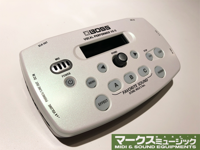 BOSS VE-5 ホワイト [VE-5-WH](アウトレット品)【送料無料】