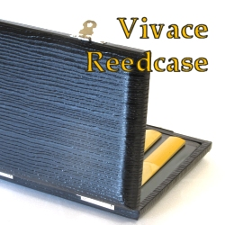VIVACE ヴィヴァーチェ 低価格 リードケース 初回限定 収納目安10枚クラリネット アルトサックス兼用 送料込 うるし紙の外装