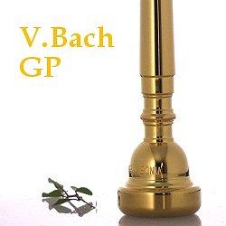 トランペット マウスピース V.Bach バック金メッキ仕上げ (送料込)