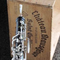 オーボエ クランポン プロディージュ中学生、高校生が吹奏楽部で最初に購入するのに最適このオーボエを吹いて下さい。
