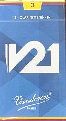 B♭クラリネットリードバンドレンV21 1箱 注文後の変更キャンセル返品 送料込 新作からSALEアイテム等お得な商品 満載