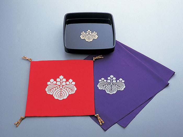 儀式 結納用品紋付お祝い3点セット-定紋付-