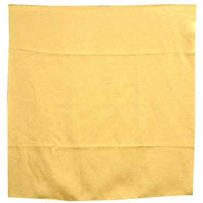 特売 風呂敷 パステルカラーがかわいい カラーバリエーション豊富なちりめん風呂敷 (訳ありセール 格安) 色がきれいなちりめん風呂敷 黄色 二巾みかん色