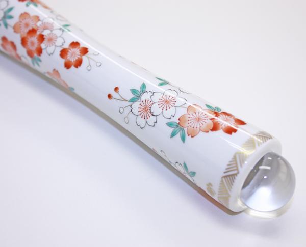 【有田焼 万華鏡】桜 (円柱型テレイドタイプ)