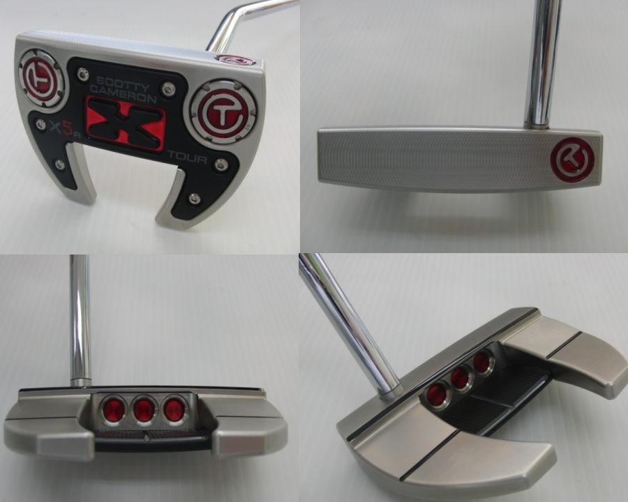 新貨小組T!! SCOTTY CAMERON FUTURA X5R TOUR推桿