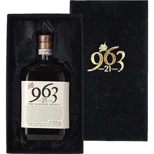 【全国送料無料】笹の川酒造963 21年 ブレンデッド・モルト・ウイスキー 700ml