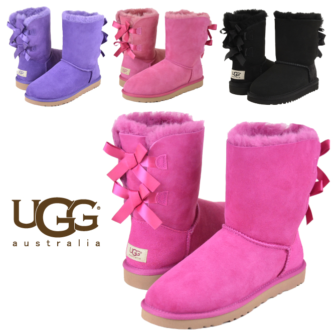 UGG アグ BAILEY BOW ベイリー ボウ ムートンブーツ リボン シープスキン ブーツ ・  【marquee】
