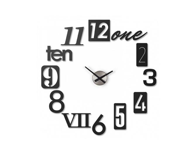 【★200円OFFクーポン!+5%還元!★】アンブラ UMBRA numbra wall clock 貼り付け 壁掛け時計【marquee】